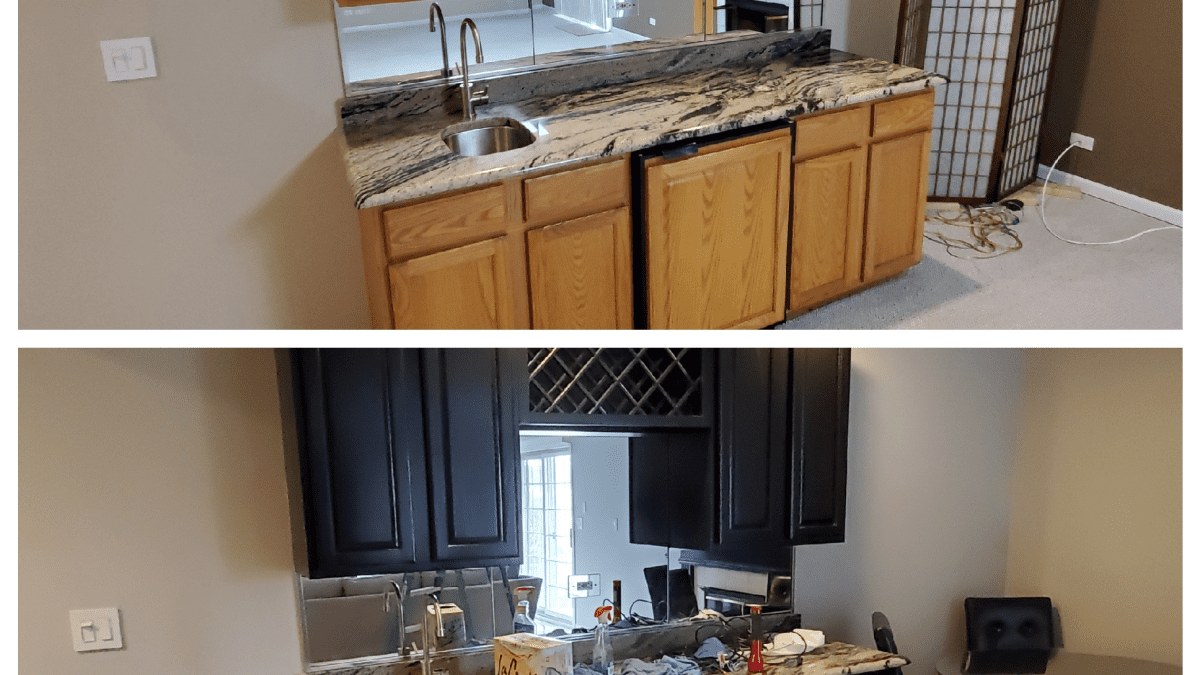 Tips For Painting Kitchen Cabinets Black Dengarden