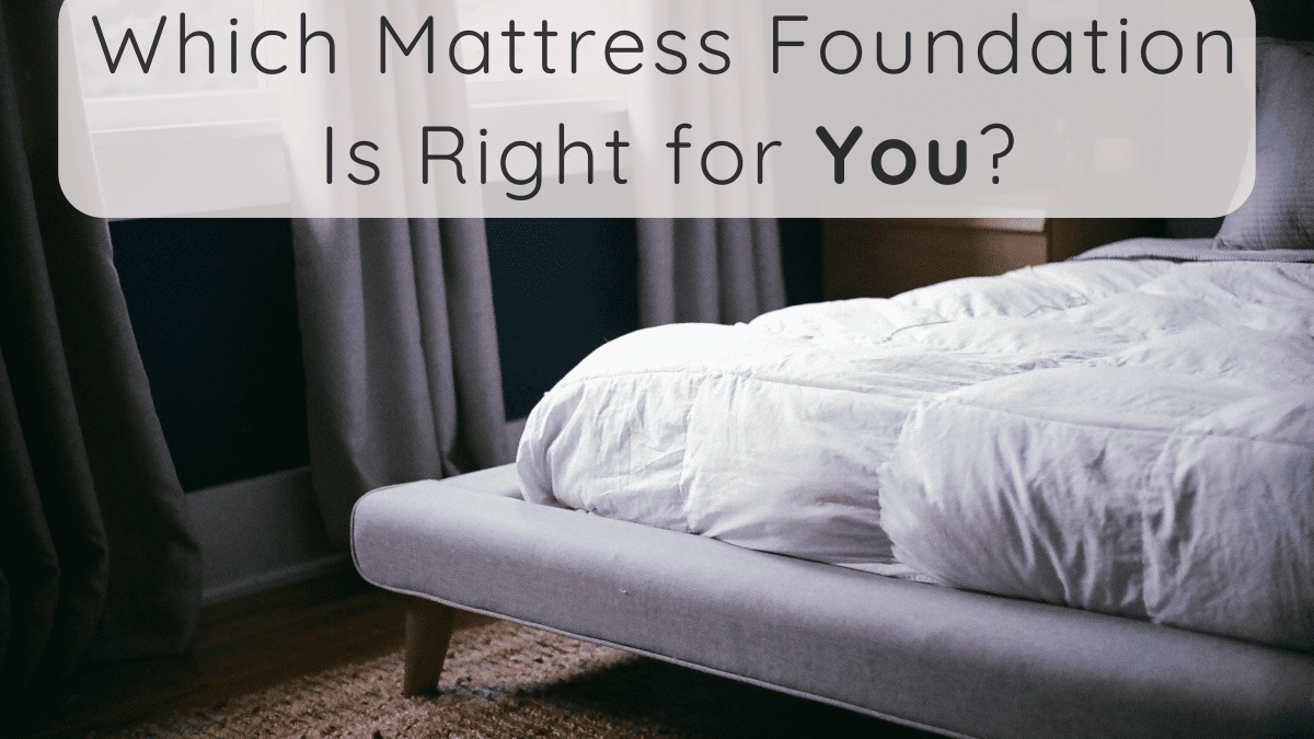 What Type Of Foundation Is Best For Memory Foam And Latex Mattresses Dengarden Home And Garden