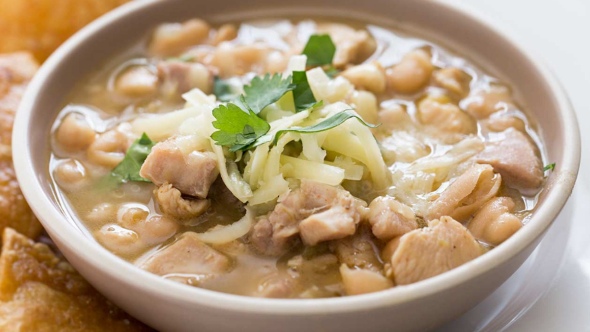 My Favorite White Bean Chili Recipe Delishably Food And Drink