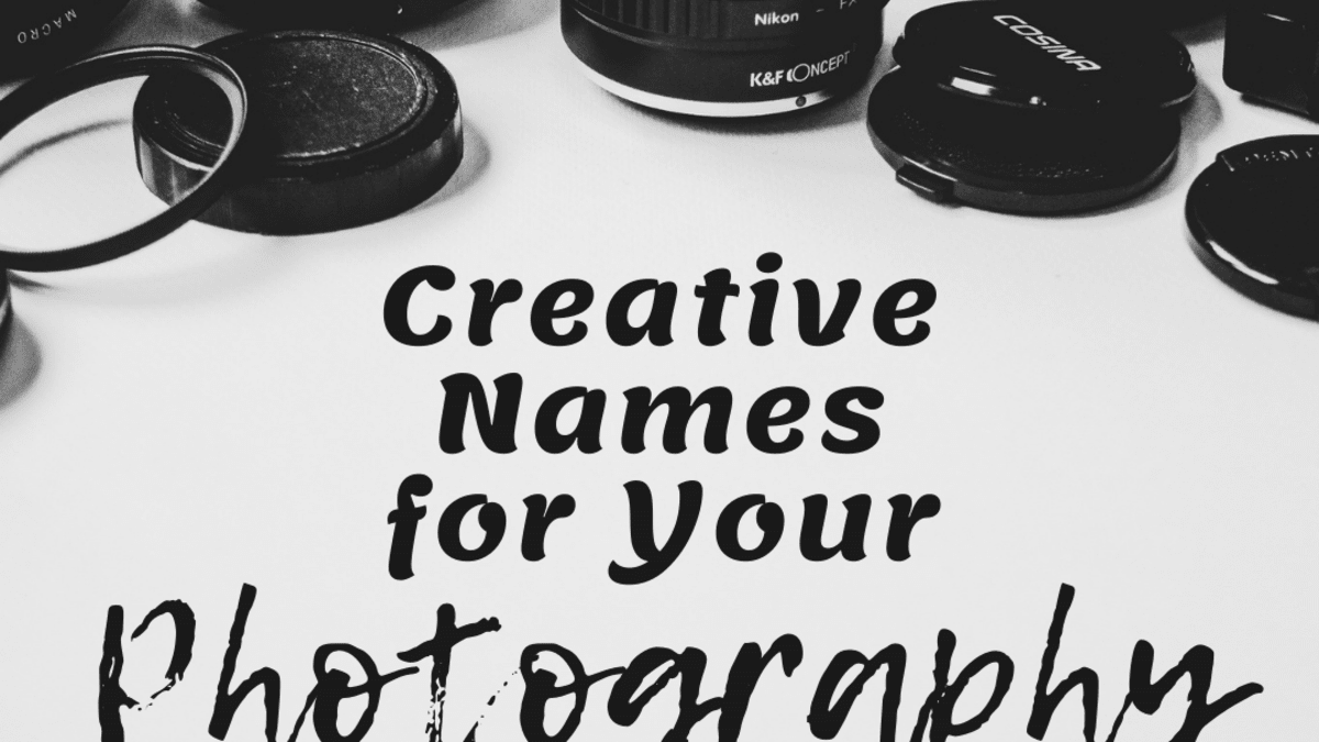 150 Creative Photography Business Name Ideas Feltmagnet Crafts