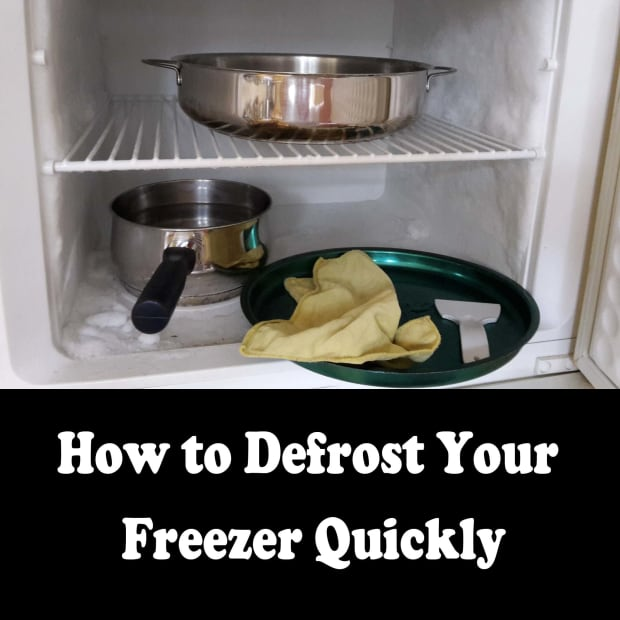 defrost--freezer-quickly