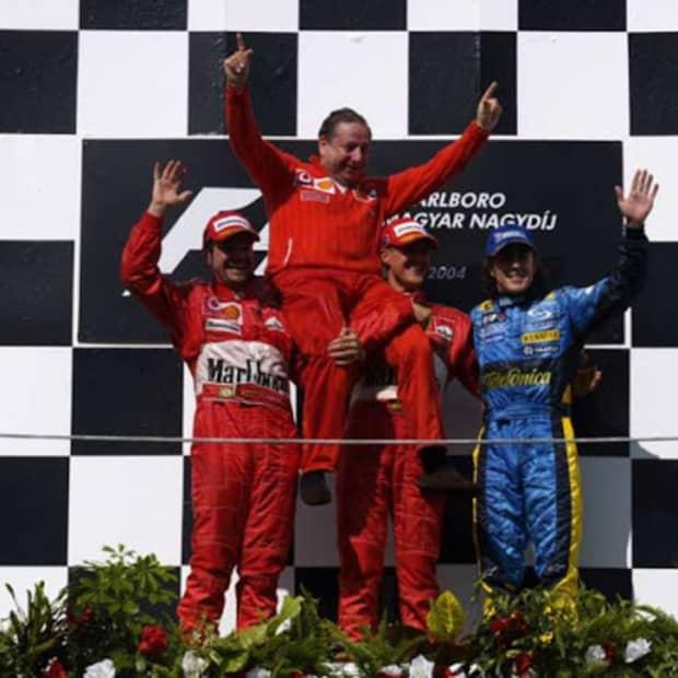 2004年匈牙利大奖赛迈克尔·舒马赫第82次职业生涯胜利