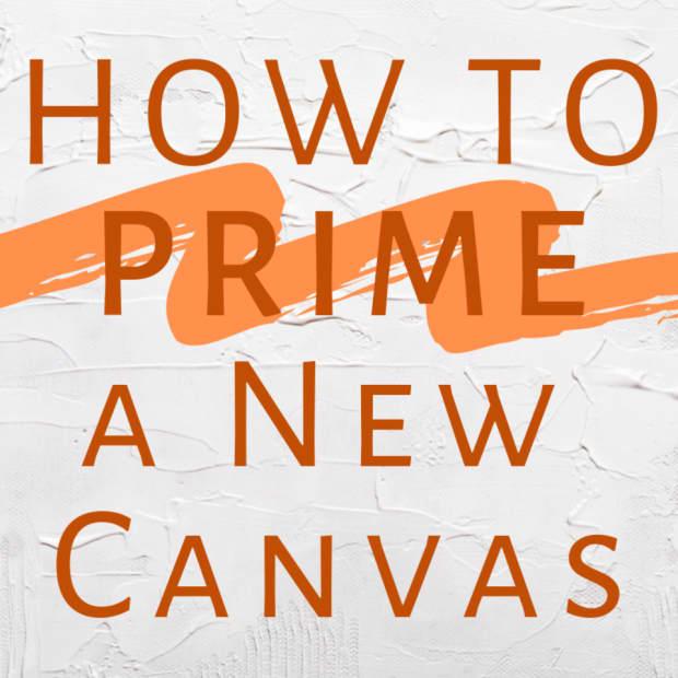 prime a canvas