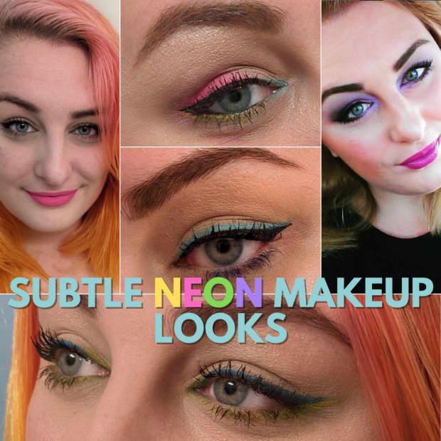 5-trendy-and-subtle-neon-makeup-looks