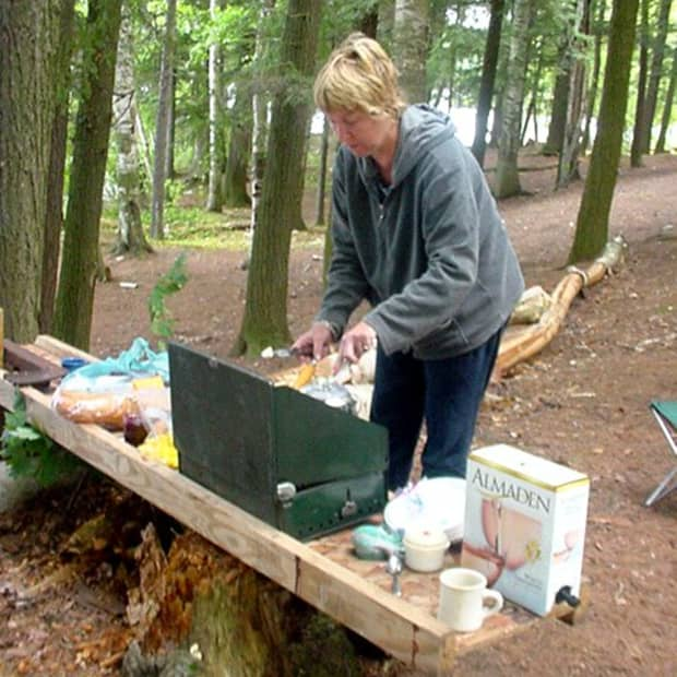 Camp cooking is not real formal
