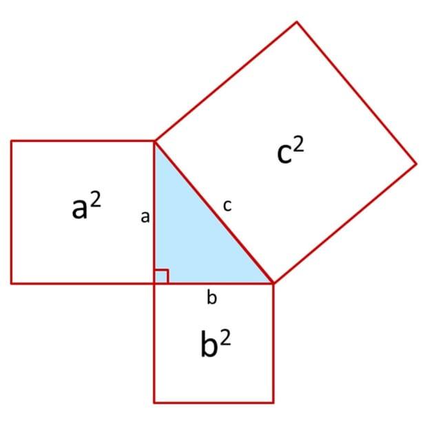 如何使用 - 使用 - 毕达哥拉斯 - 定理到查找缺失的侧面右侧角度 - 三角形