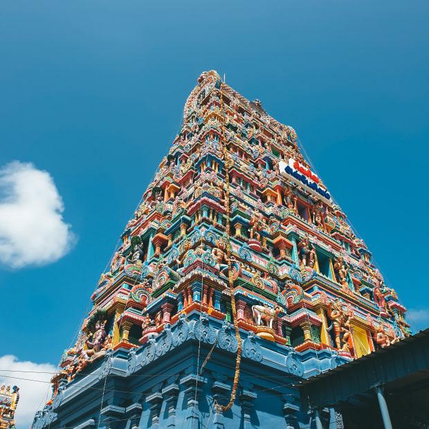 Temple in Chennai, Tamil Nadu, India