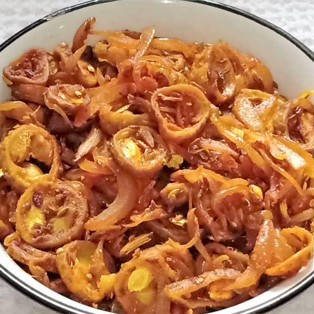 karele-ki-sabji-bitter-gourd-curry