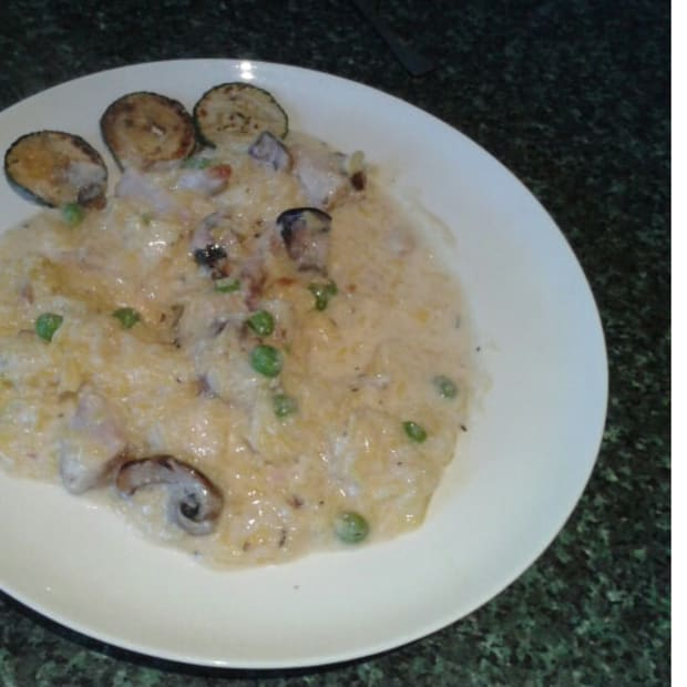 how-to-maketurkey-and-mushroom-risotto-idea-for-using-up-leftover-turkey