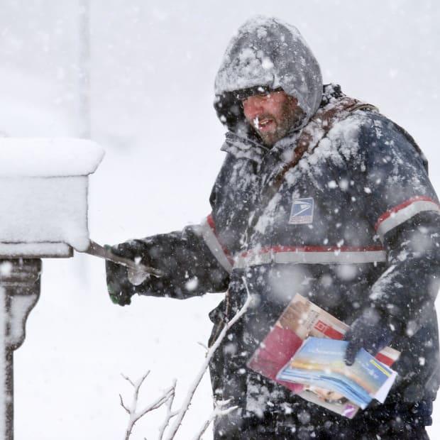 五雪震撼者 - 前往前般的天气邮蛋