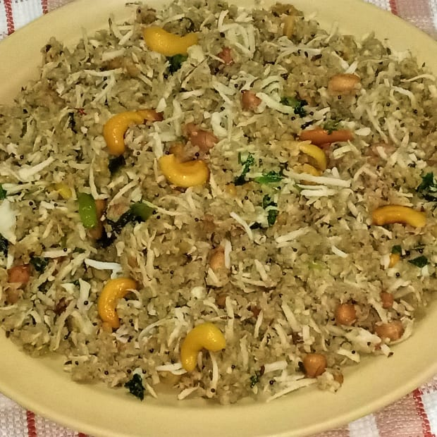 millet-coconut-rice-recipe