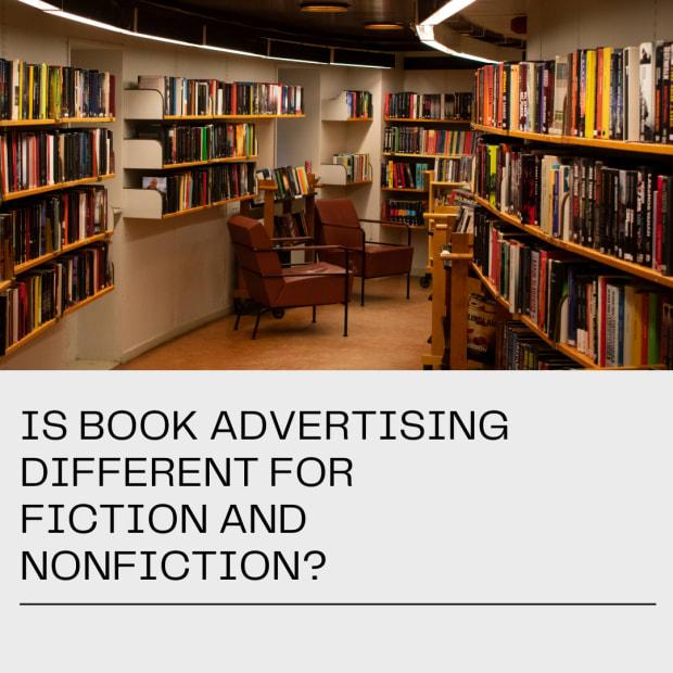 是书籍广告 - 不同的小说 - 和非小说
