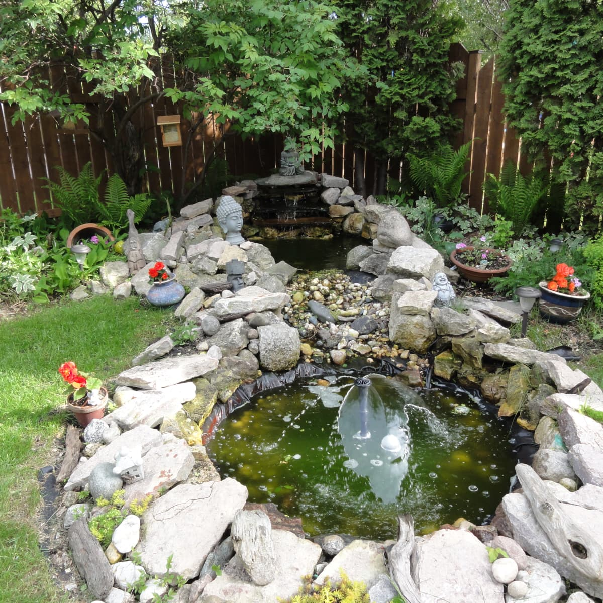 How To Build A Waterfall Meditation Pond For Your Backyard Paradise Dengarden Home And Garden