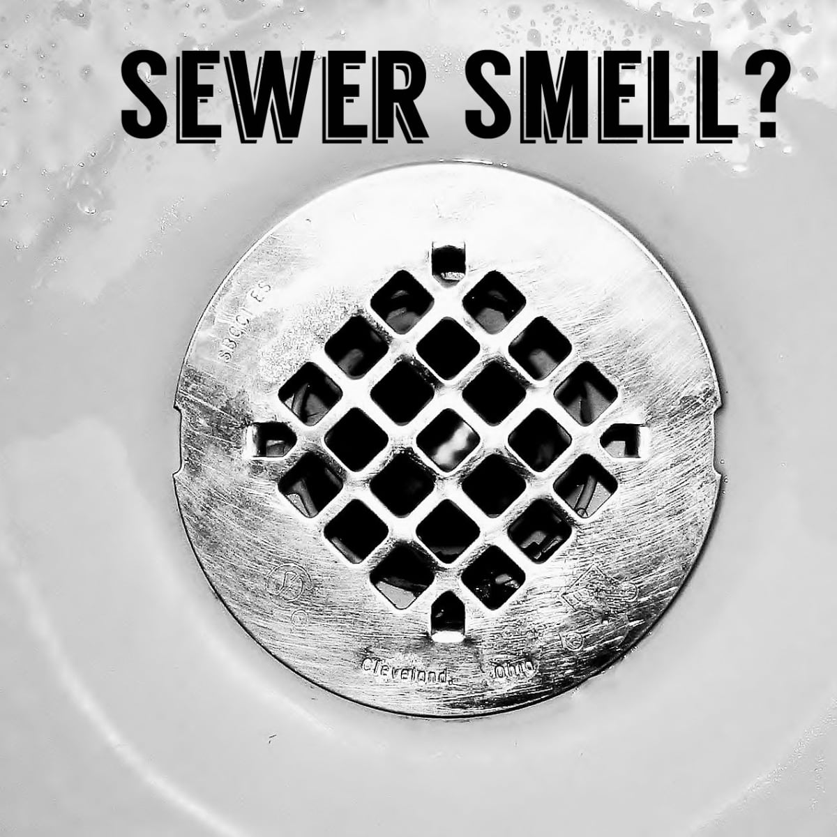 Smell Sewer Gas In Your House Try This, Sewer Smell In Bathroom