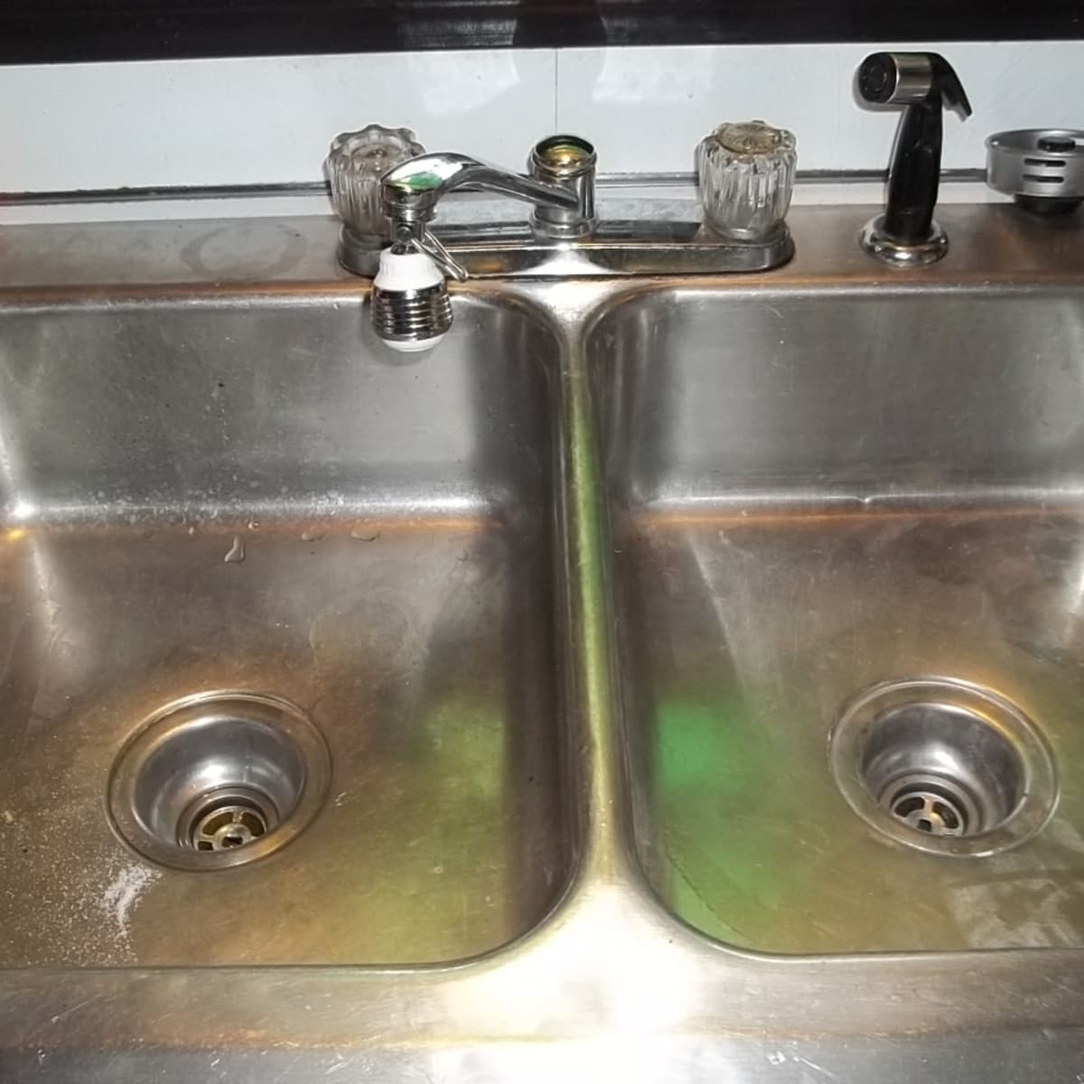 How To Unclog A Double Kitchen Sink Drain Dengarden Home And Garden