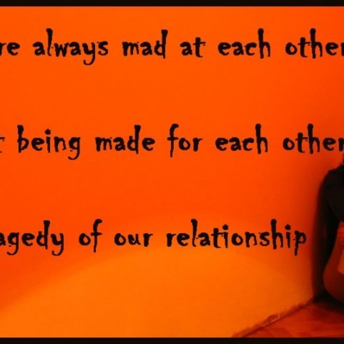 Status sad relationship Tu Agar