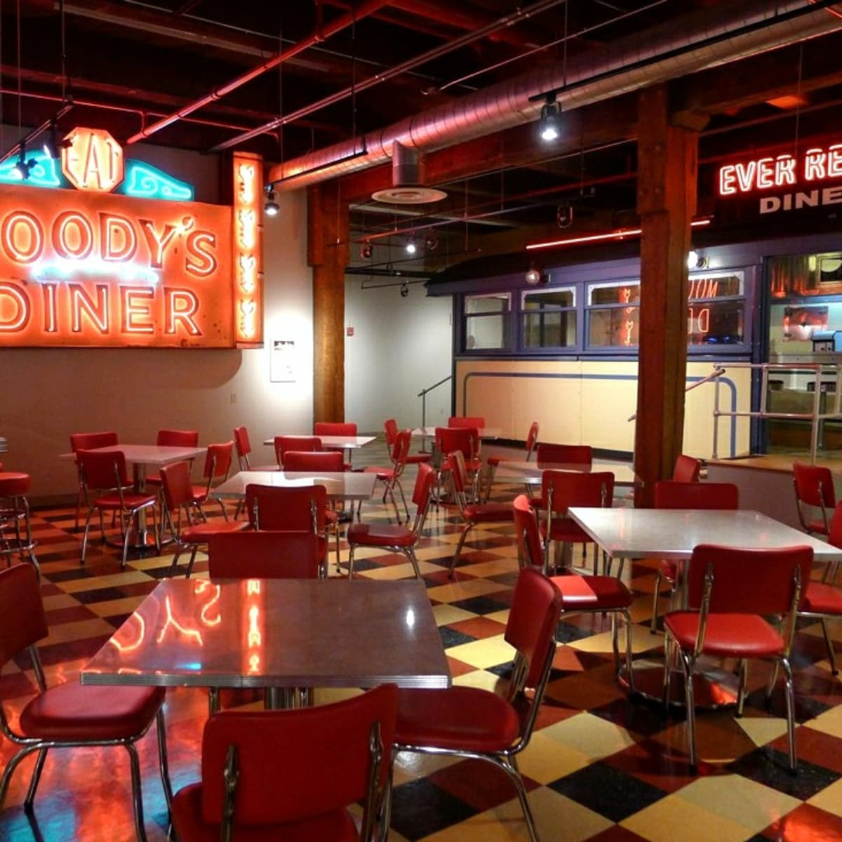 How To Decorate Your Kitchen In Retro Diner Style Without Breaking The Bank Dengarden