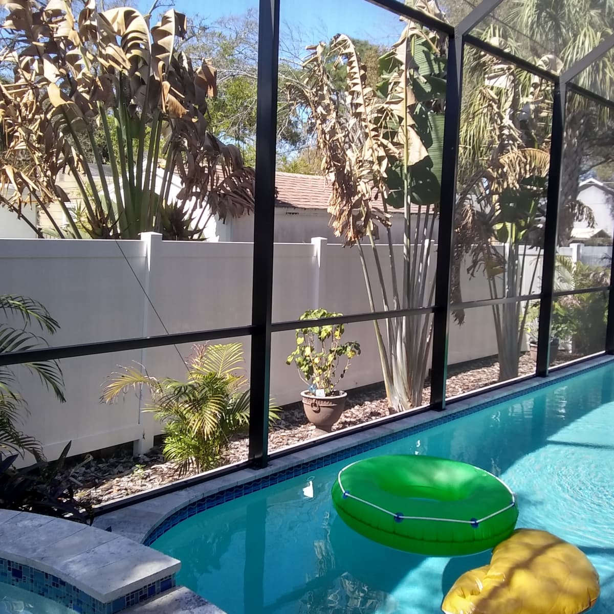 Benefits And Disadvantages Of Swimming Pool Screen Enclosures Dengarden Home And Garden