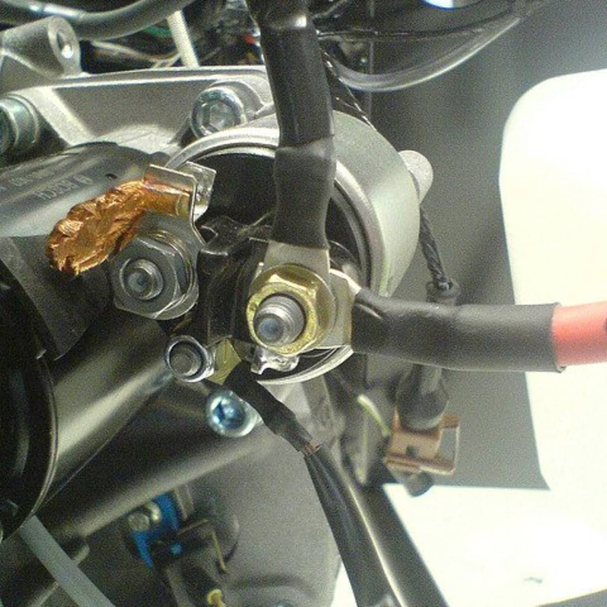 On solenoid wires starter where the go do a How to