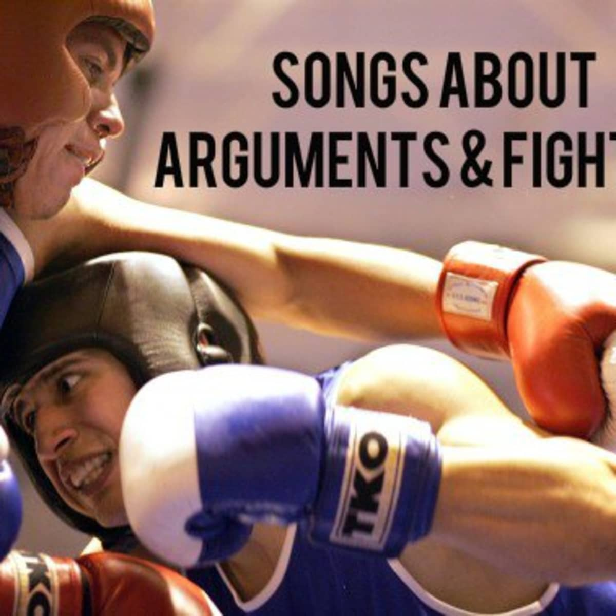 55 Songs About Arguments And Fighting Spinditty Music Largely due to the success of the song superman (it's not easy) in late 2001. 55 songs about arguments and fighting