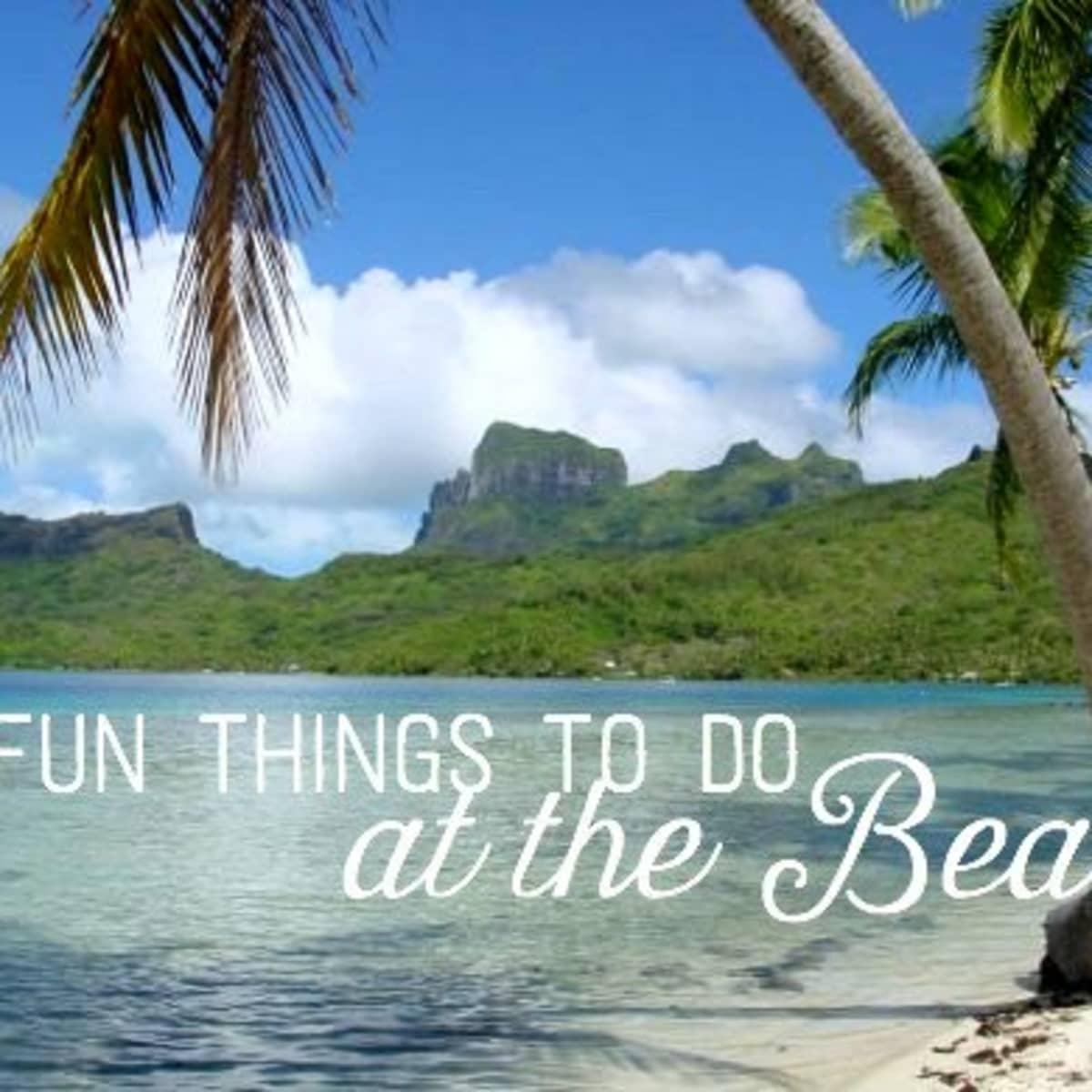 20 Fun Things to Do at the Beach   WanderWisdom