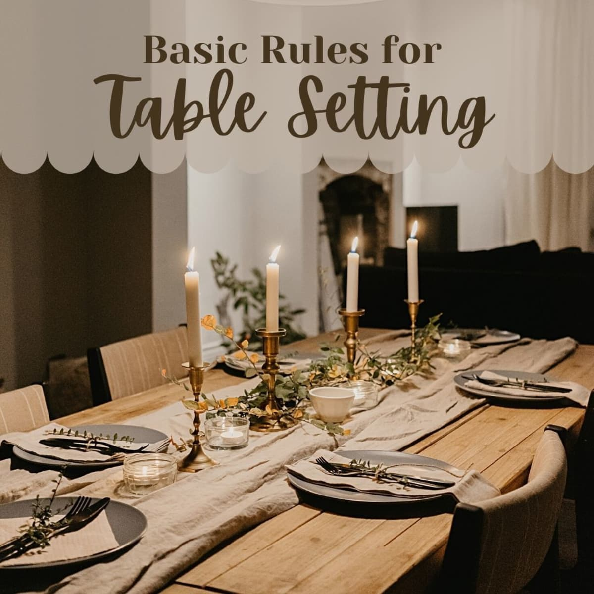 How to Set a Dining Table   Dengarden