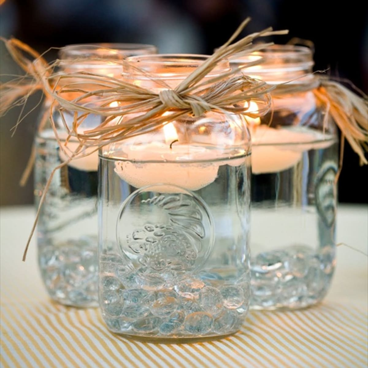 Mason Jars For Wedding Decorations Rustic Beautiful Cheap Holidappy Celebrations