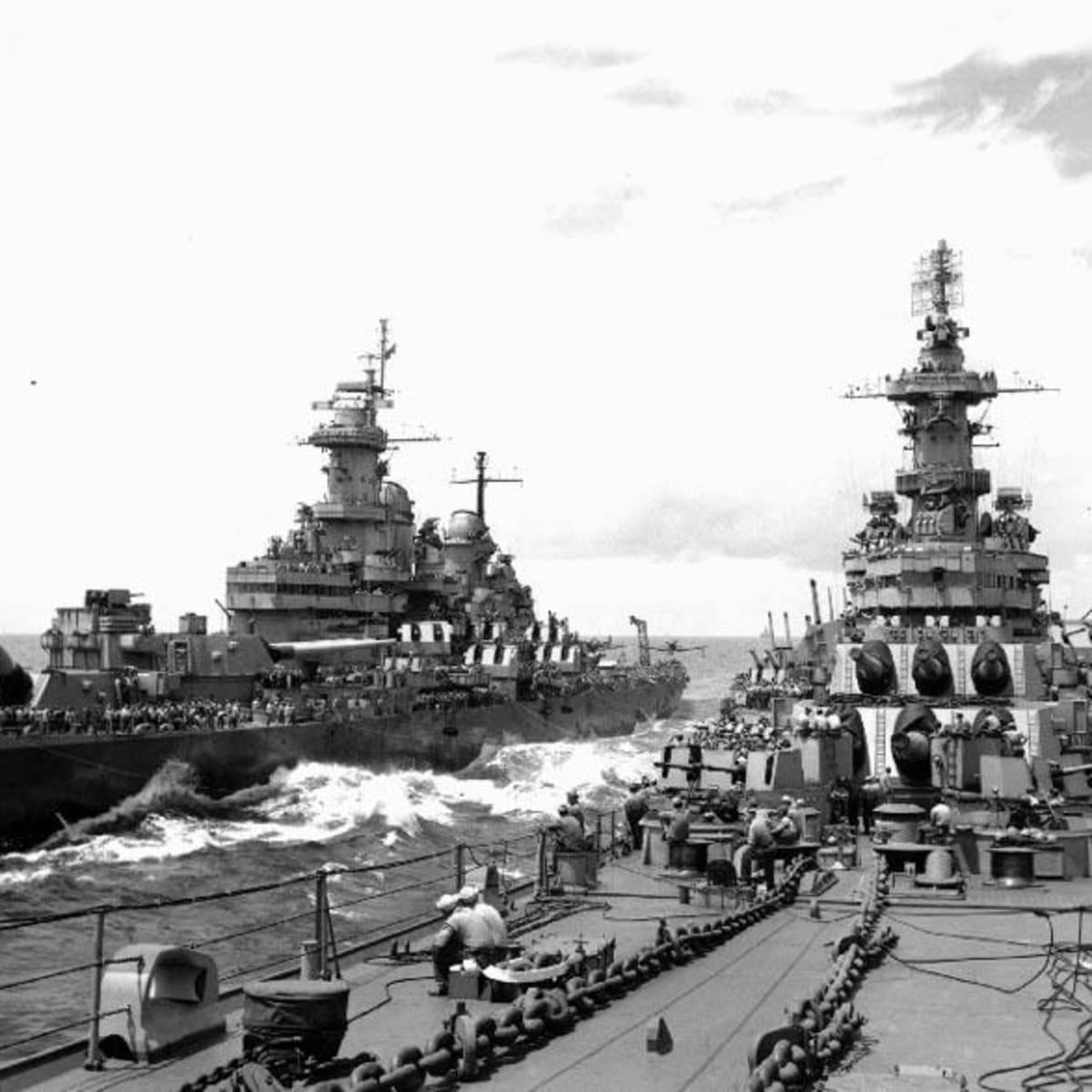 BB63 USS MISSOURI at Anchor