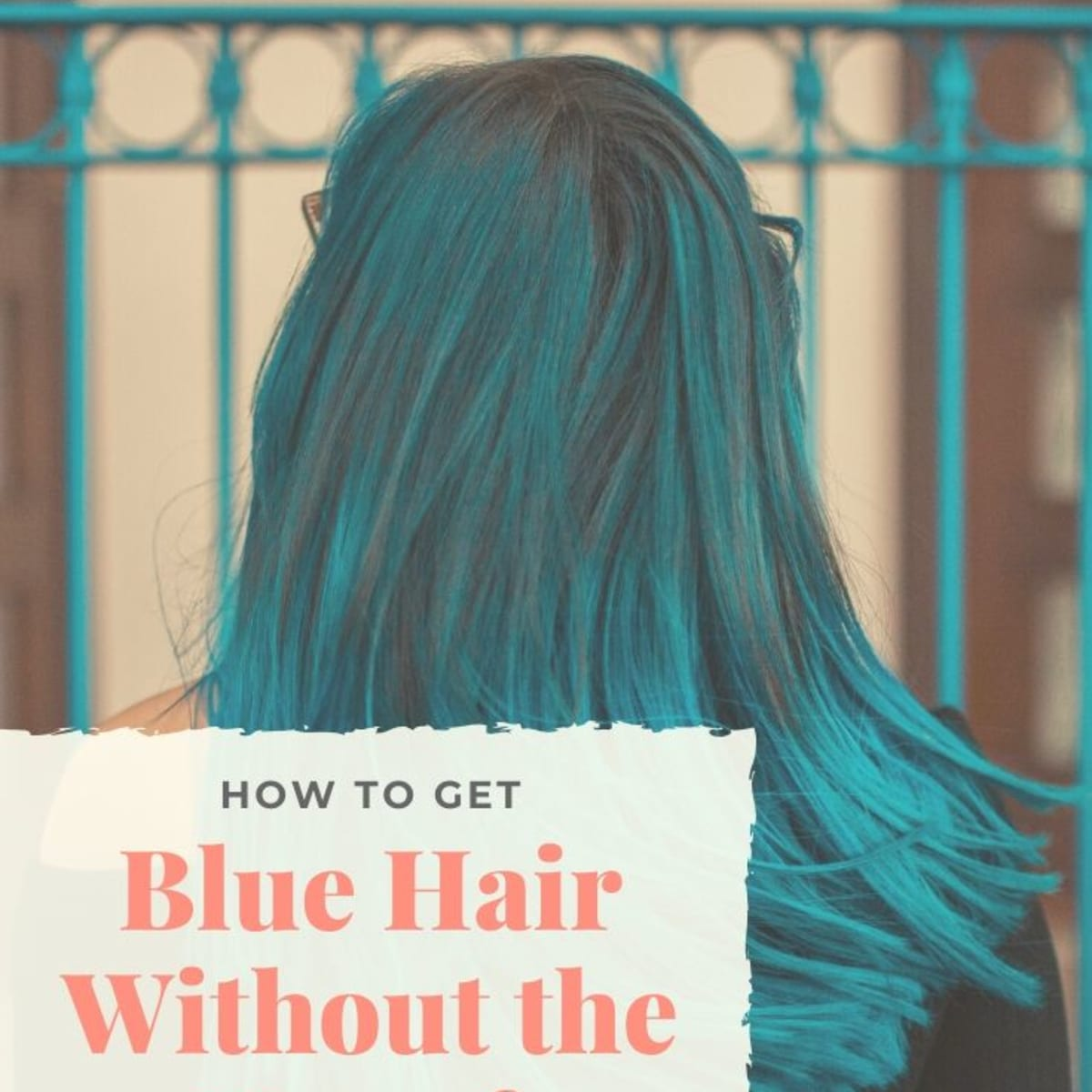 How To Dye Your Hair Blue At Home Without Chemical Dyes Bellatory