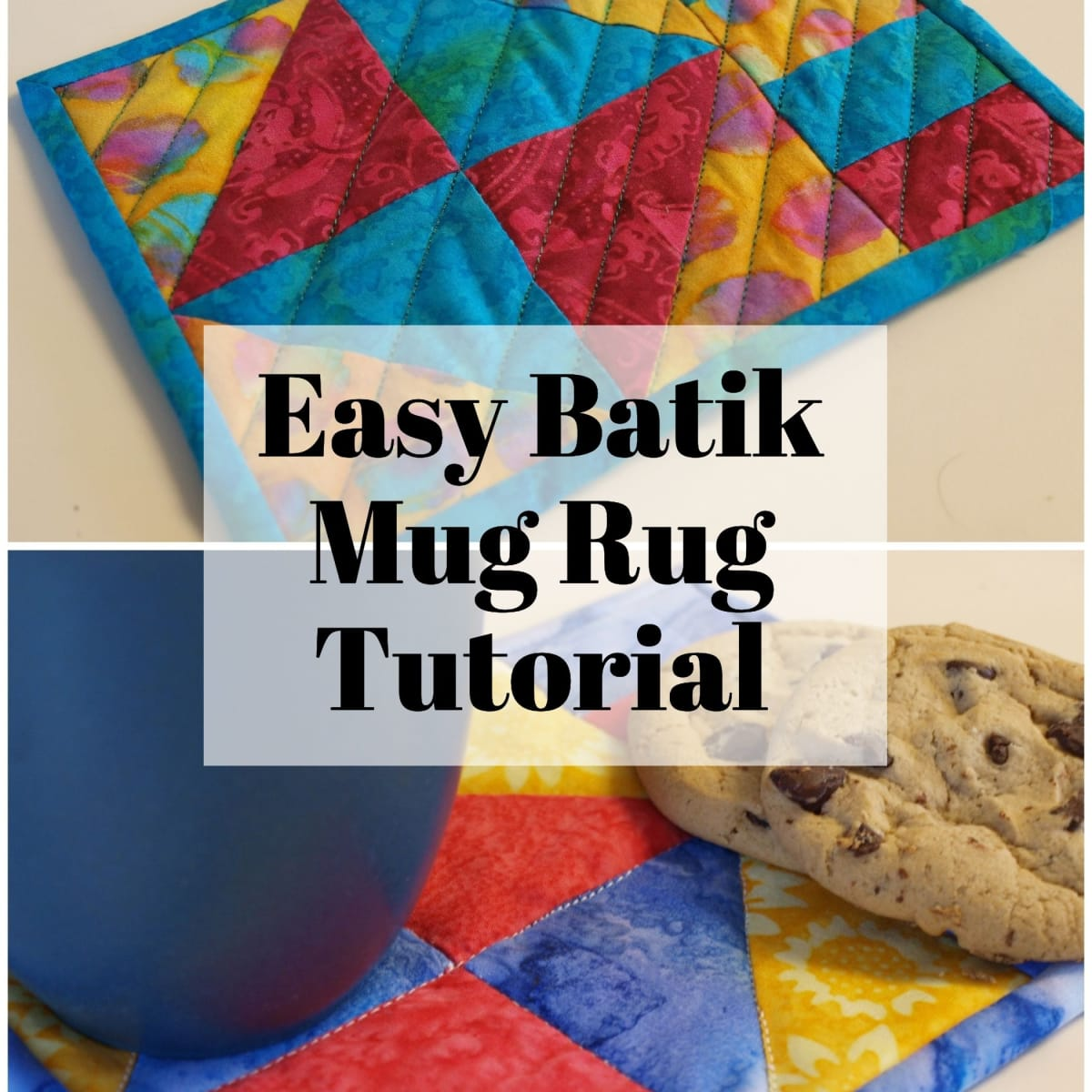 How To Make A Mug Rug Feltmagnet Crafts