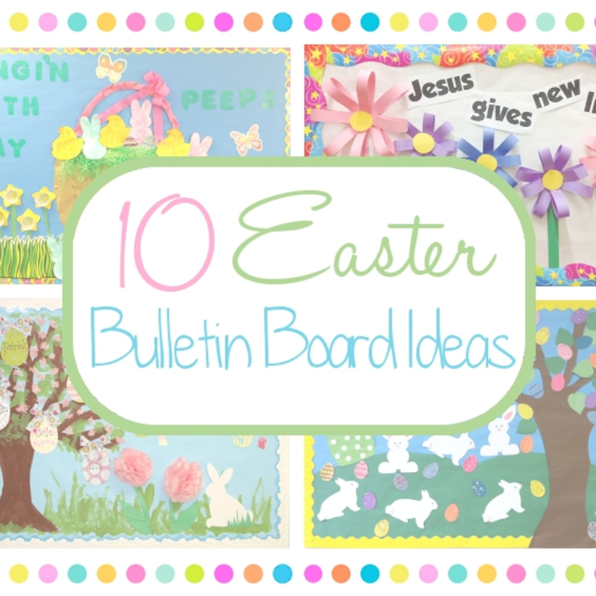 10 Easter Bulletin Board Ideas For School Or Church Holidappy
