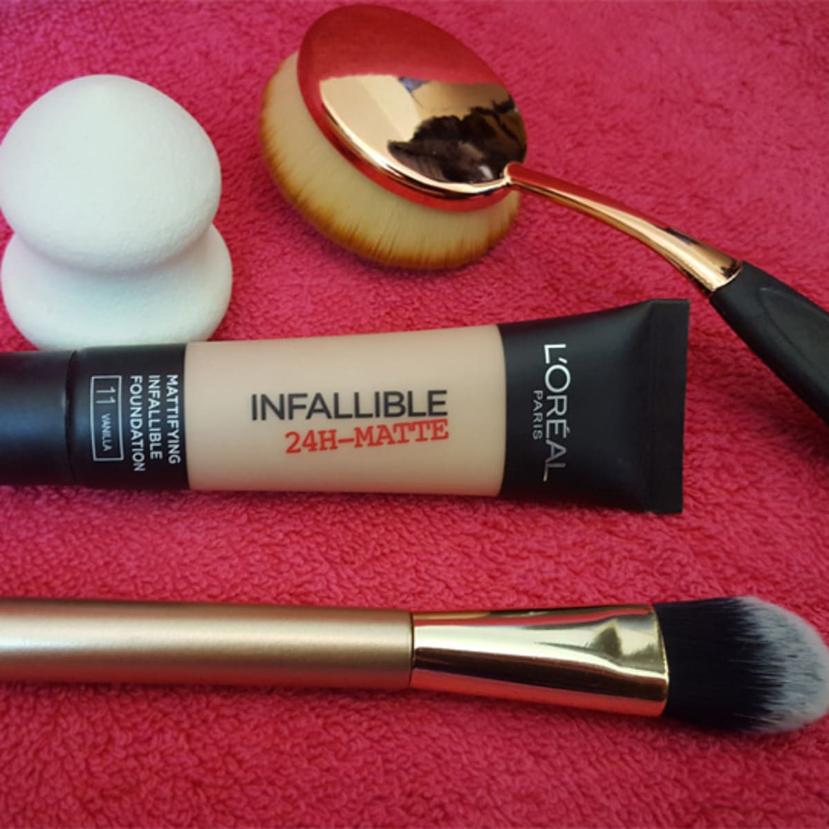 L Oreal Infallible 24hr Matte Foundation Review Bellatory Fashion And Beauty