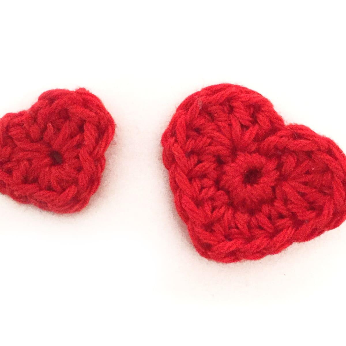 hearts free crochet pattern