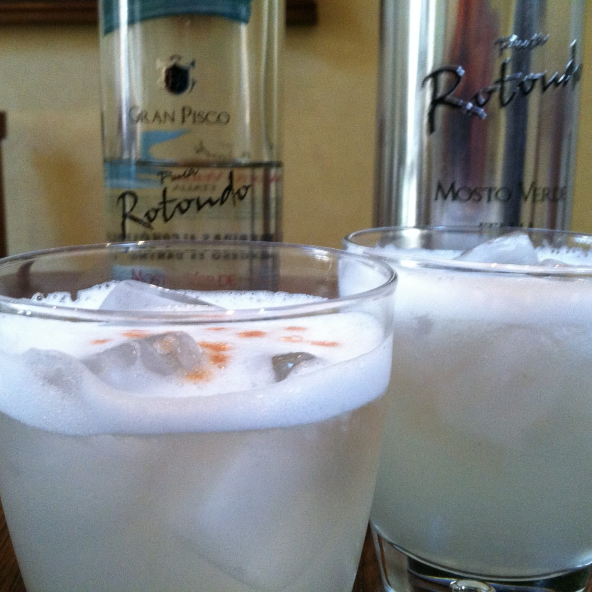 Frosty Pisco Sour Drink Recipe Delishably Food And Drink