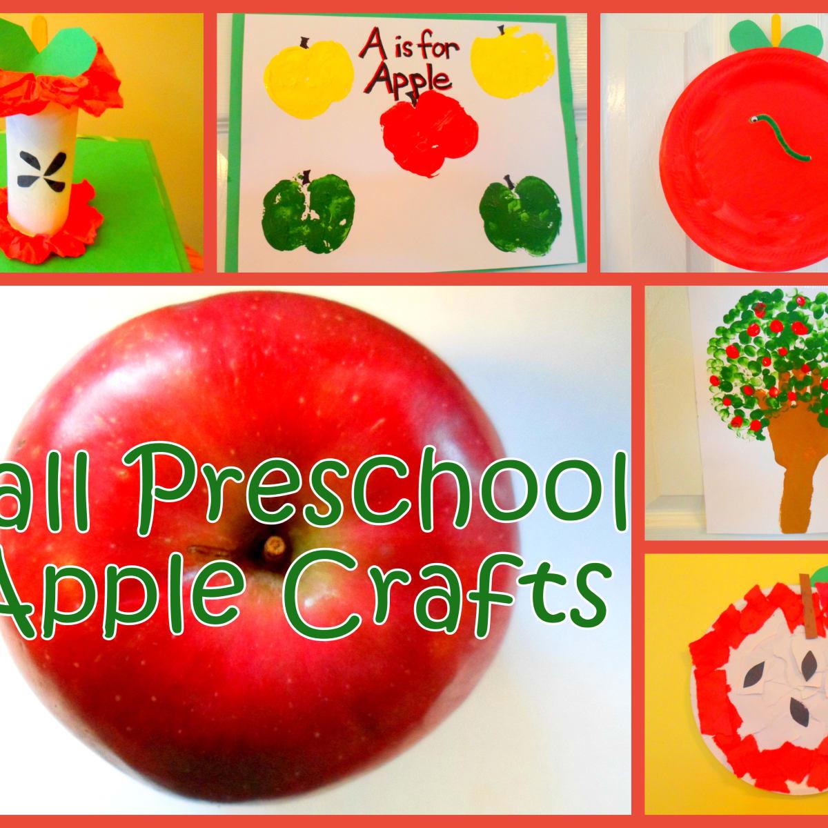 Fall Preschool Apple Craft Ideas Feltmagnet
