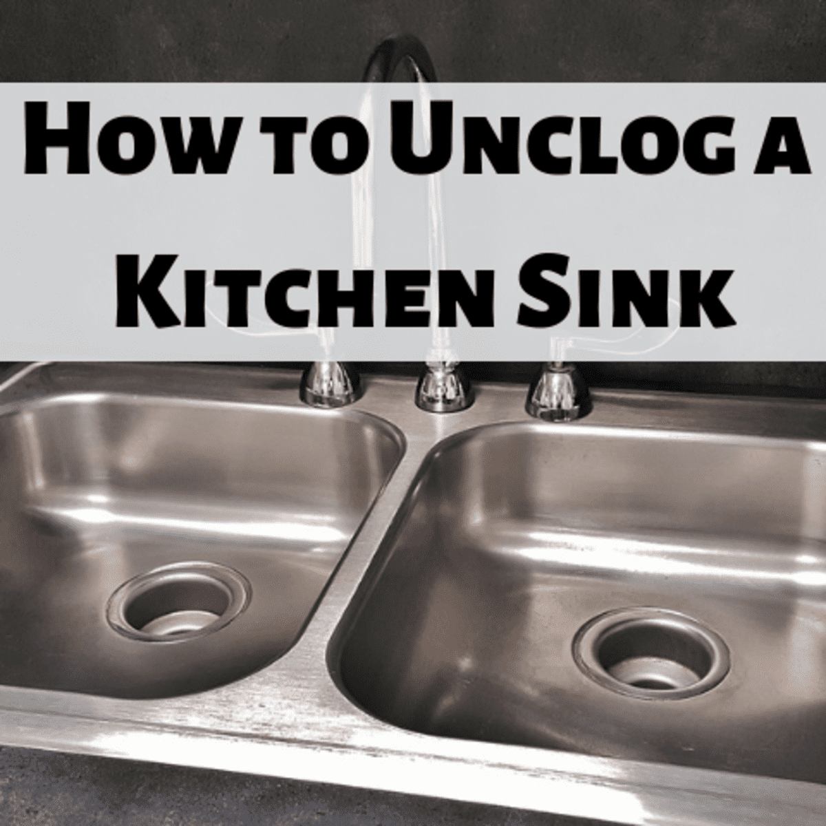 How To Unclog A Kitchen Sink Drain 8 Methods Dengarden