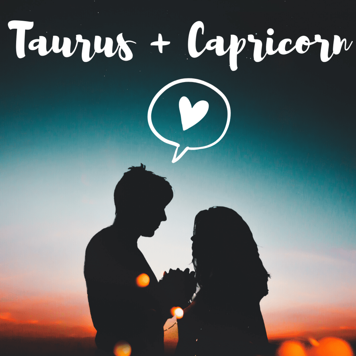 Compatibility taurus female capricorn male Taurus and