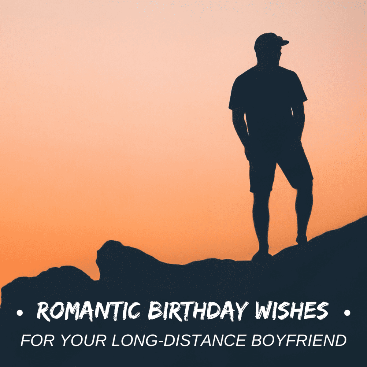 Male crush wishes birthday for Romantic Birthday