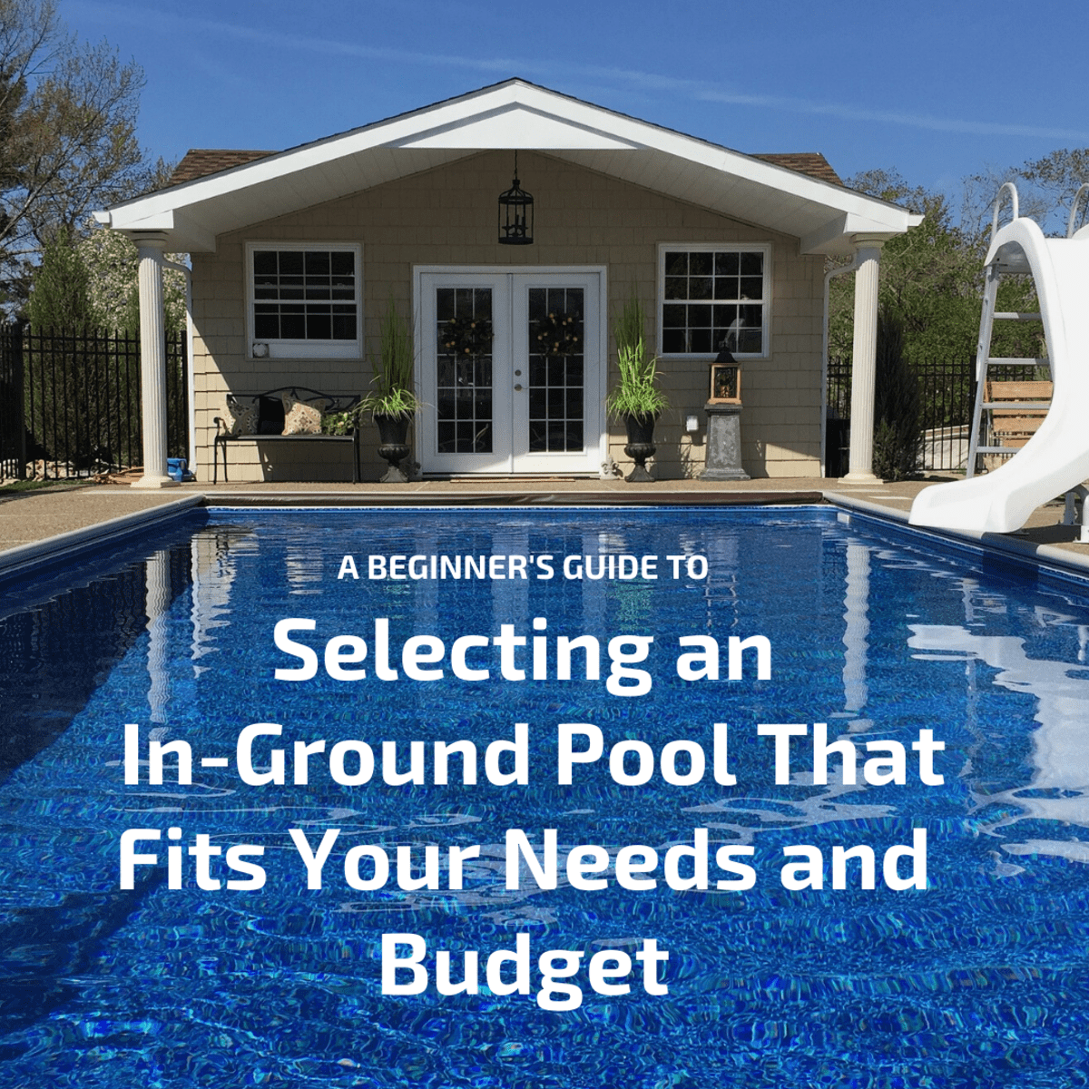 Standard In Ground Pool Shapes Sizes And Costs Dengarden