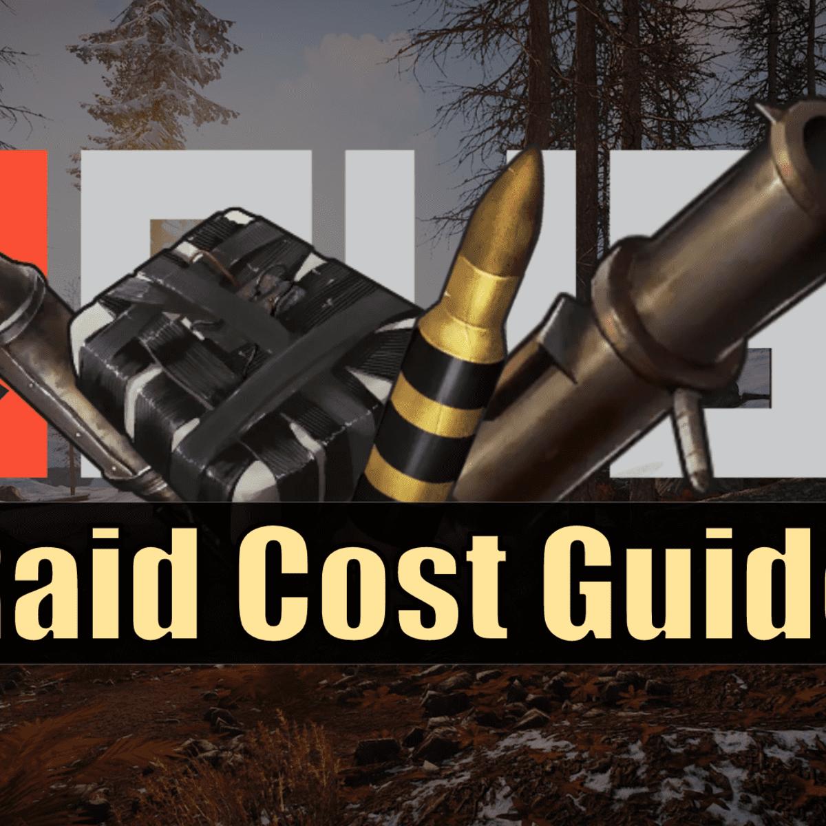 Rust Raid Cost Guide Levelskip