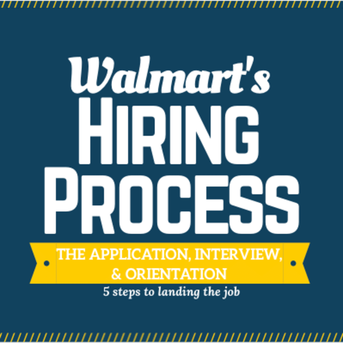 The Hiring Process At Walmart From Application To Interview To Orientation Toughnickel Money