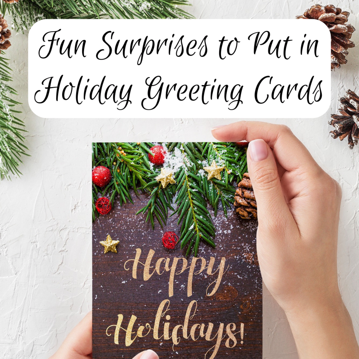 Put In Christmas And Holiday Cards