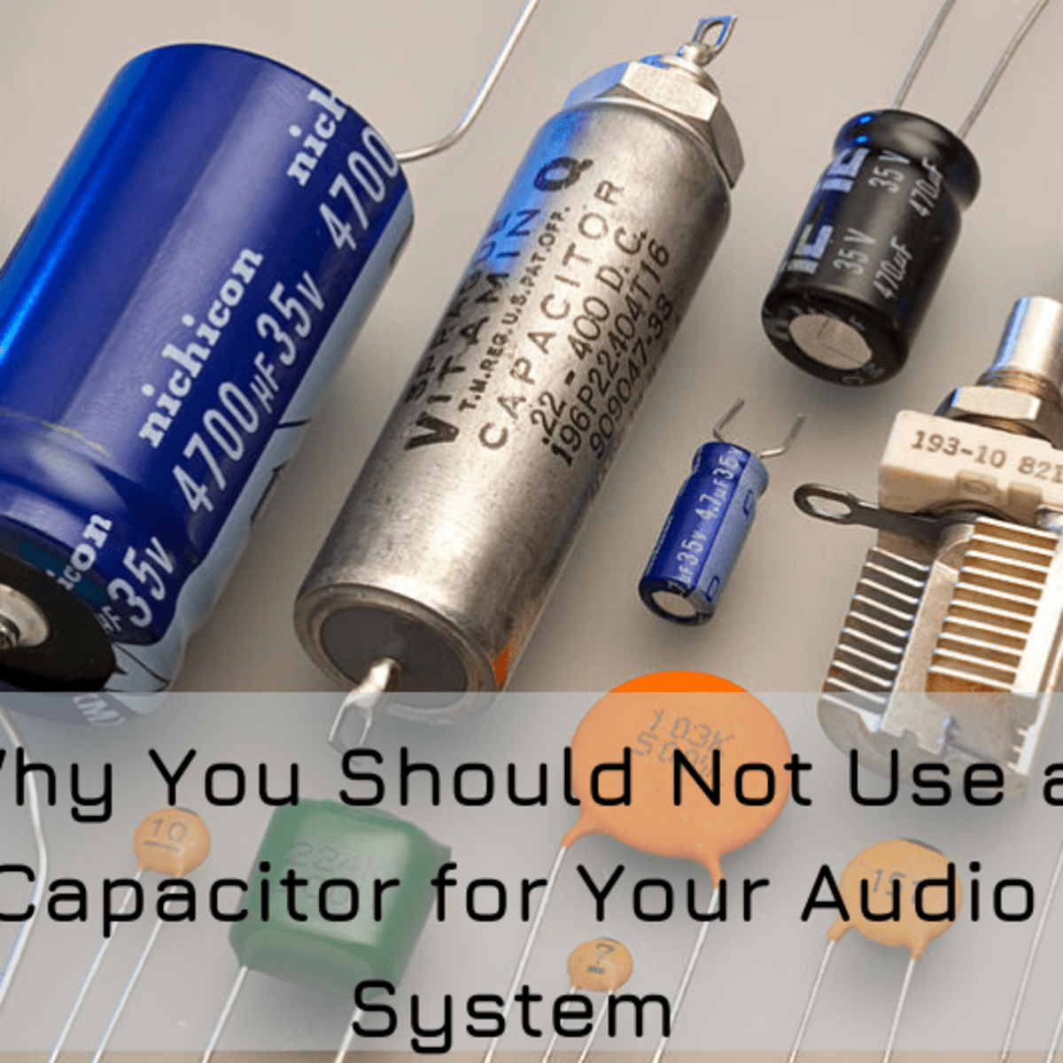 Why Car Audio Capacitors Don't Work - AxleAddict - A community of car  lovers, enthusiasts, and mechanics sharing our auto advice | Bass And Amp For Car Stereo Capacitor Wiring Diagram |  | AxleAddict
