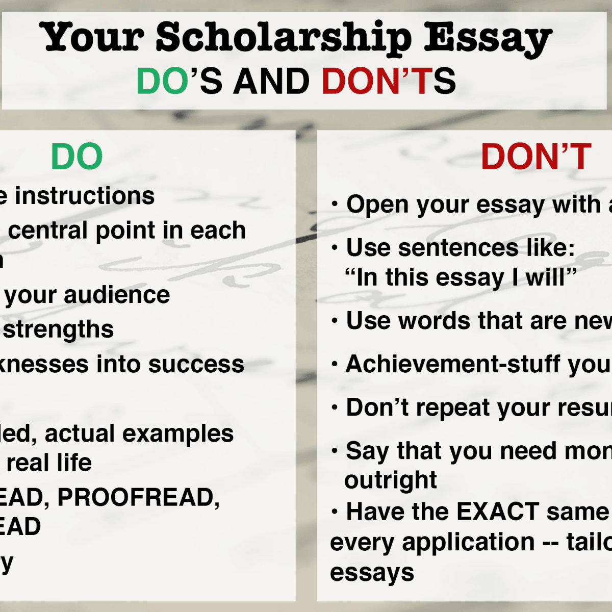 How to write essay for scholarship dissertation on motivation