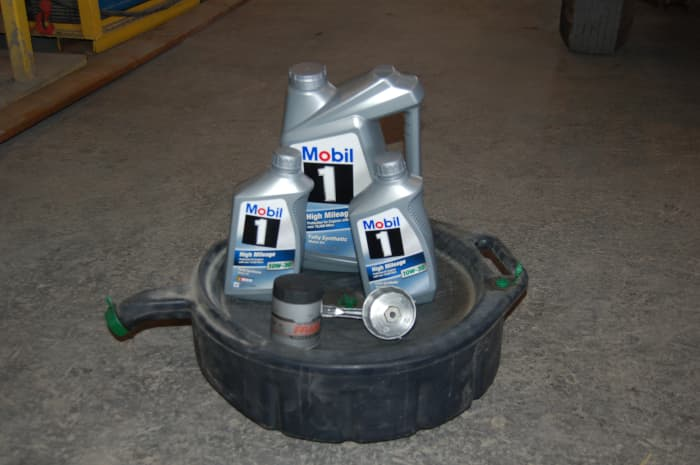 Oil, Filter, and Oil Pan