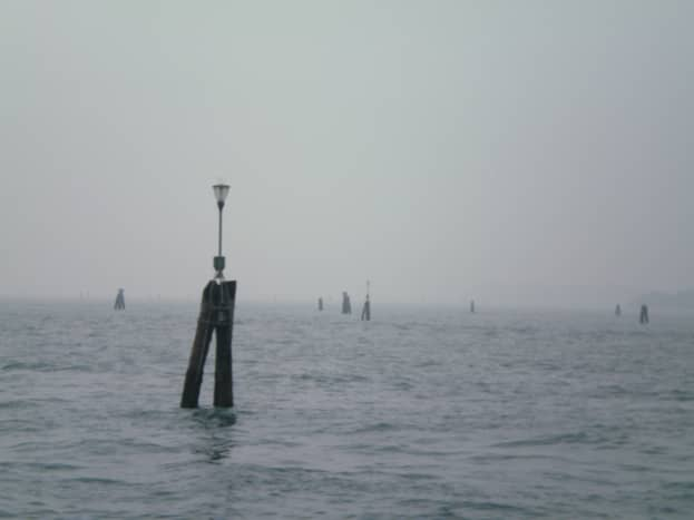 Mist on the Venetian lagoon (c) A. Harrison