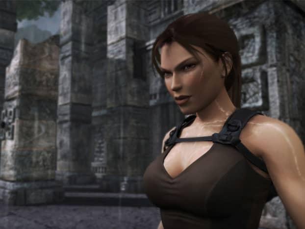 Lara Croft as depicted in Tomb Raider Underworld