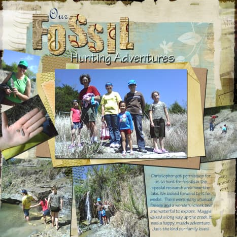 Fossil Hunting. Our family loves to find fossils from long ago that are right under our feet here in Central Texas.