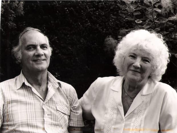 My beautiful parents ...