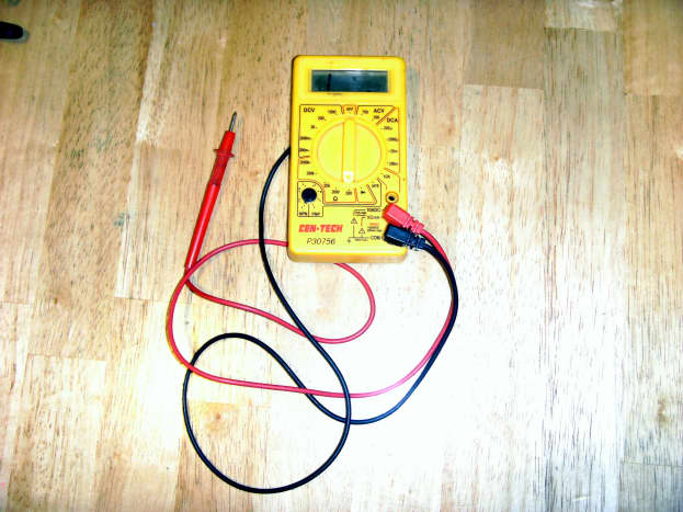 A small inexpensive multimeter